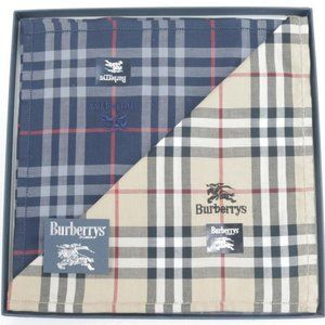 Burberry Nova Check Handkerchief Set Box Gift